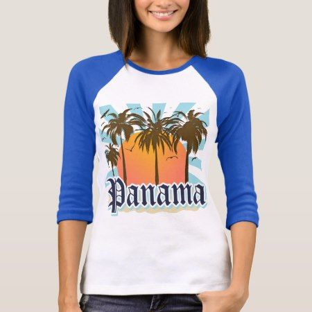 Panama City Souvenir T-Shirt - tap, personalize, buy right now!