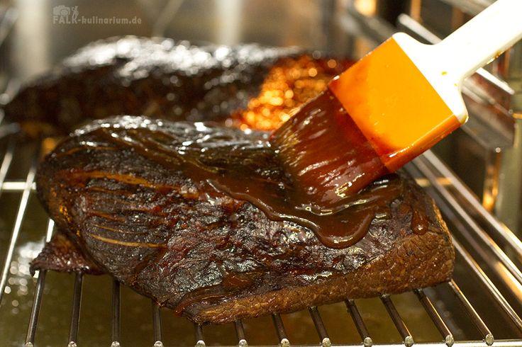 Beef Brisket (Rinderbrust) Sous-Vide USA Barbecue