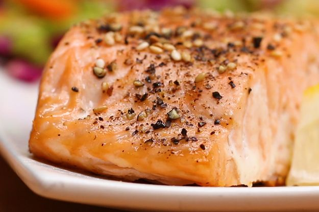 Zest Up Your Dinner Plans With This Easy Sesame Salmon And Orange Slaw