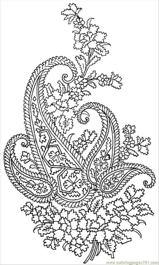 Paisley Pattern Colouring Sheets : 111 best paisley images on pinterest