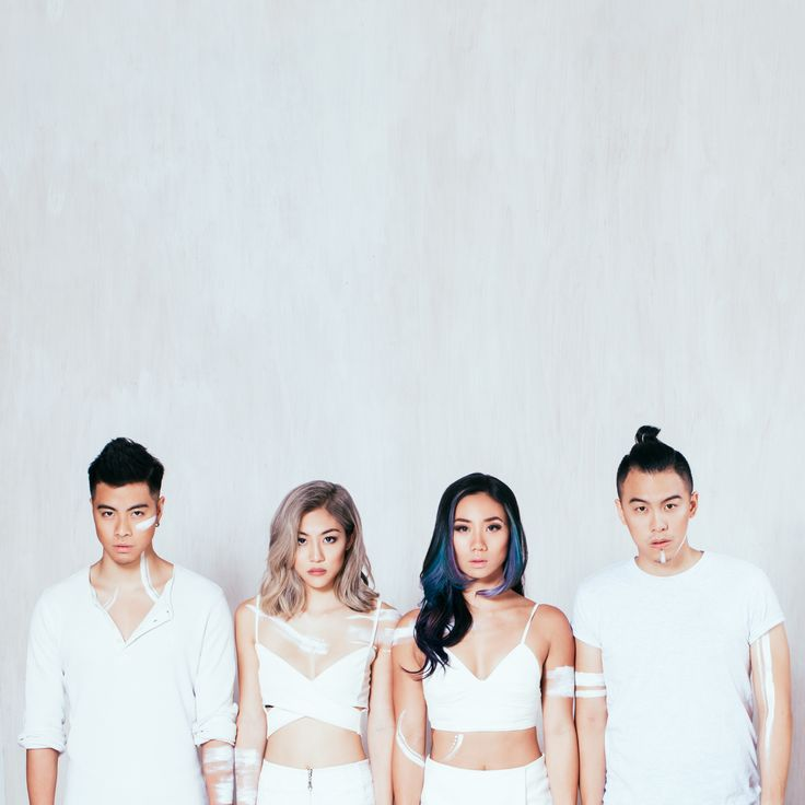 Take heart. Album cover for The Sam Willows by Lenne Chai.