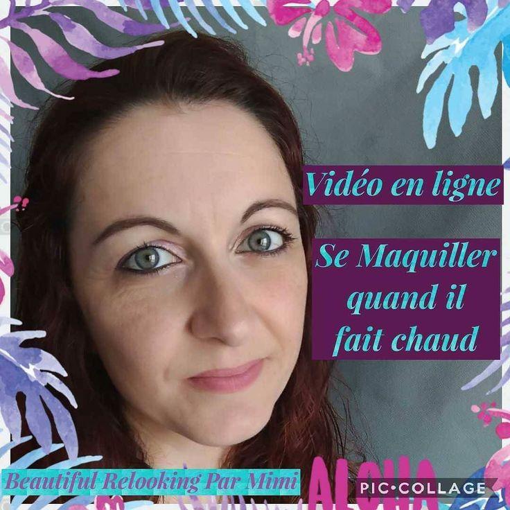 Comment se maquillage quand il fait chaud. Réponse dans ma nouvelle vidéo sur YouTube !! #maquillage #makeup #beautifulrelooking #relooking #lovemyjob #chaleur #hightemperature #canicule #poudre #powder #beauty #beaute #naturel #natural  #younique_corporate #younique #mampreneur #sun
