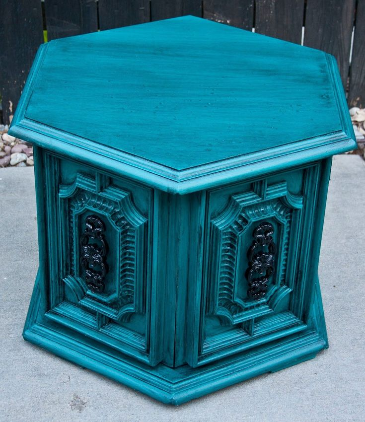 This is sooo very pretty! The paint job just makes this piece! Modernly Shabby Chic Furniture #shabbychicdressersmakeover