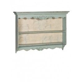 Carved Blue Wall Shelves £145