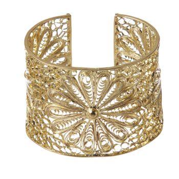 I'm selling Flora gold or silver filligree brackelet - $18.00 #onselz