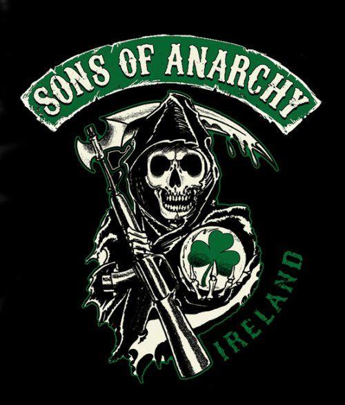soa reaper logos and states | The reaper Irish logo *