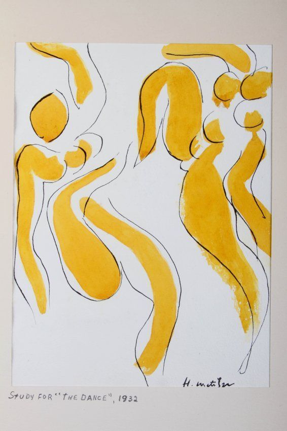Study for 'The Dance', 1932, Henri Matisse                                                                                                                                                     More