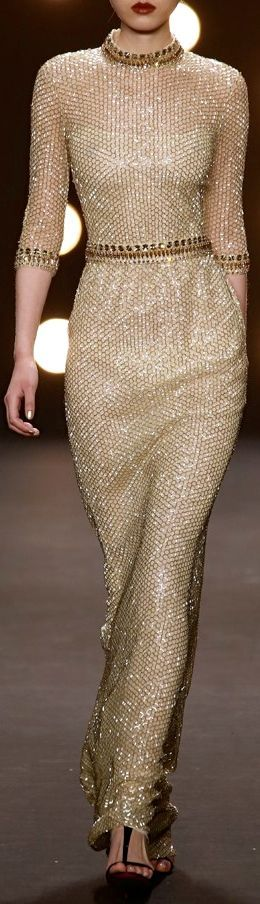 Naeem Khan, Fall/Winter 2014-2015
