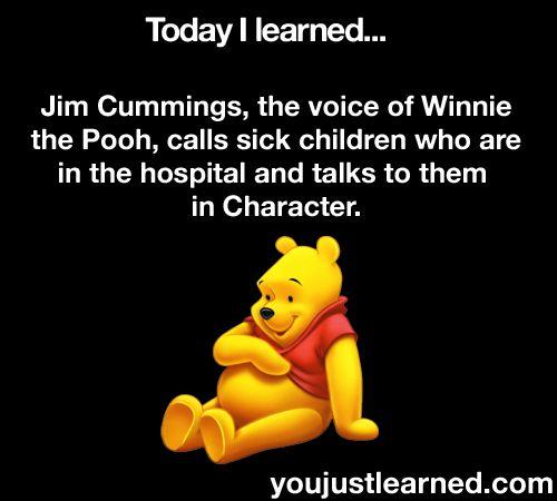 Aww: This Man, Disney Magic, Pooh Bears, My Heart, Human Restoration, Winnie The Pooh, Amazing People, So Sweet, The Voice