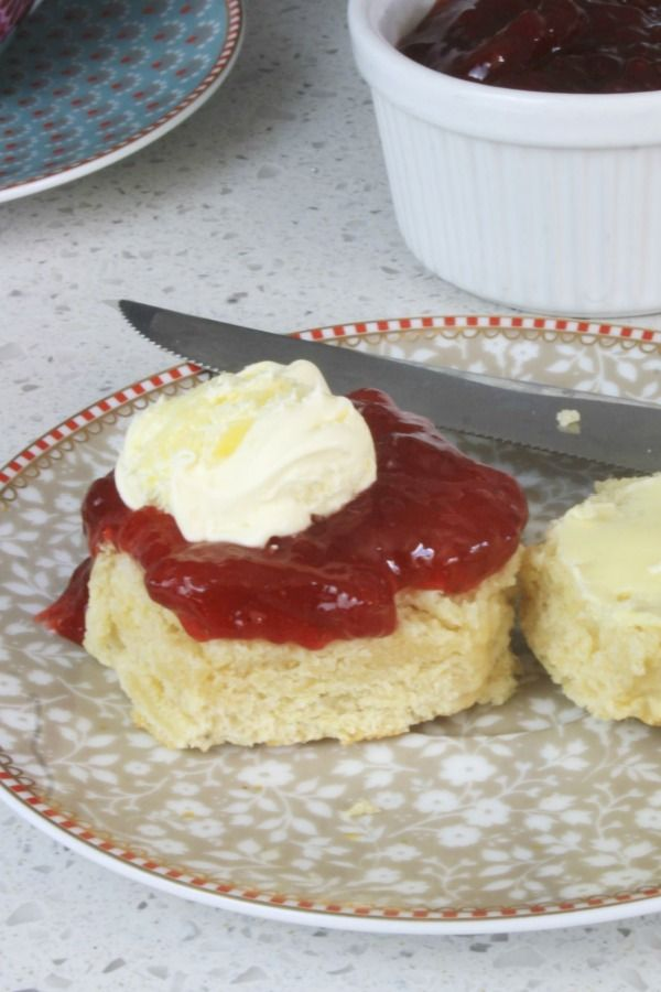 Classic British scones are one of my favourite things. There's something about a warm scone, fresh from the oven, sliced…