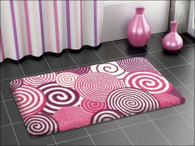 Best Tropical Bath Rugs Images On Pinterest Bath Rugs - Purple bathroom rugs for bathroom decorating ideas