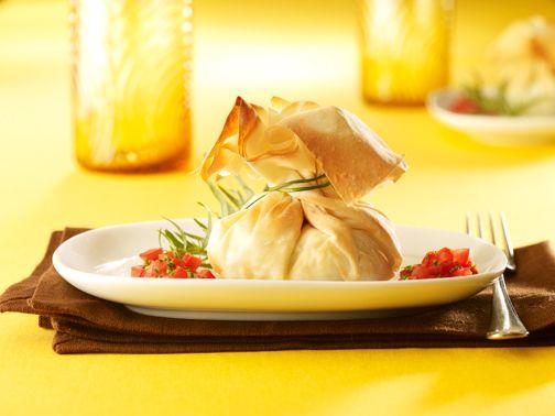 Baluchons de pommes de terre au poireau et au maïs sur Wikibouffe