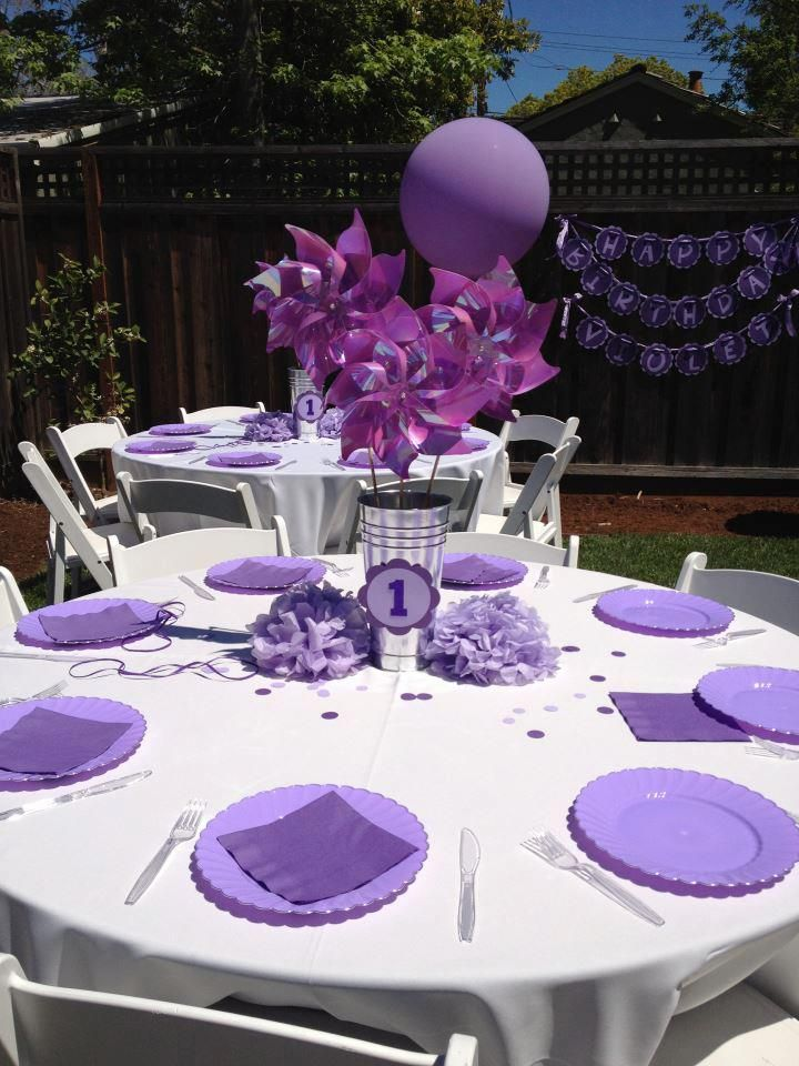 Best 25 purple birthday parties ideas on pinterest for 75th birthday party decoration ideas