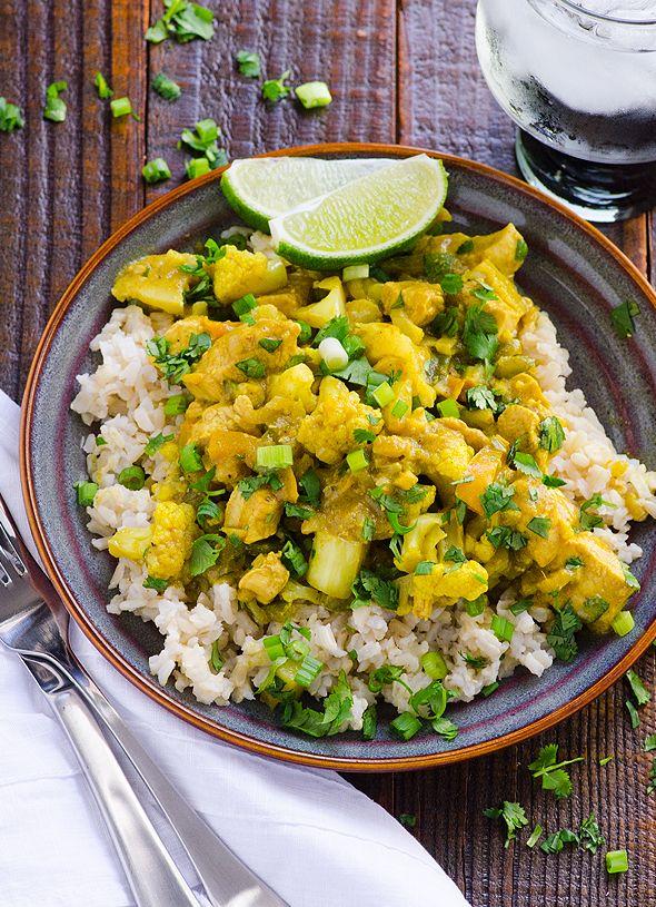 chicken yellow curry recipe