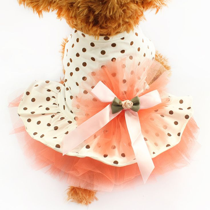 Armi store Super Cute Fluffy Dot Gauze Dog Dresses Princess  Skirt For Dogs 6071001 Pet Spring And Summer Dog Clothes // FREE Shipping //     Buy one here---> https://thepetscastle.com/armi-store-super-cute-fluffy-dot-gauze-dog-dresses-princess-skirt-for-dogs-6071001-pet-spring-and-summer-dog-clothes/    #catoftheday #kittens #ilovemycat #lovedogs #pup