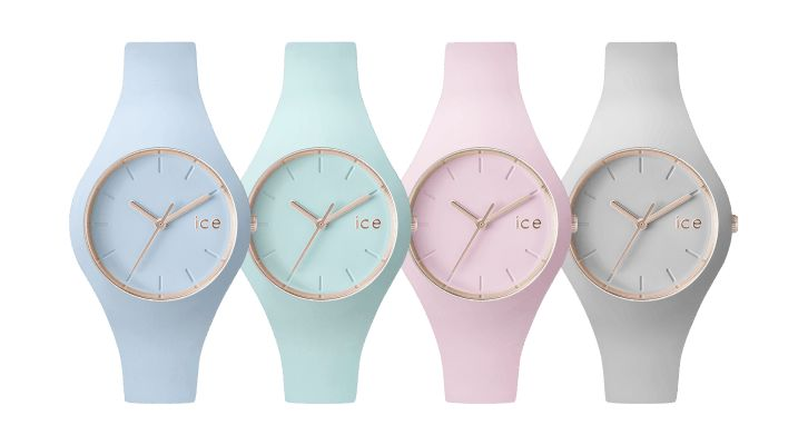 Montre couleur pastelle #IceWatch