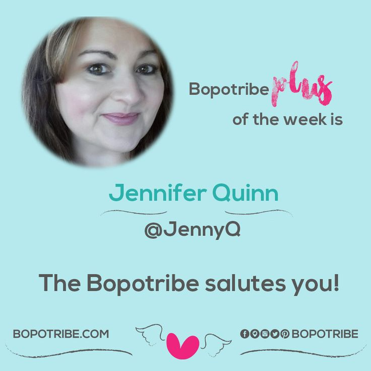 Plus of the week. We love you JennyQ