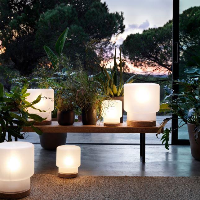 SINNERLIG tafellamp | #IKEA #IKEAnl #design #IlseCrawford #nieuw #SINNERLIG #collectie #kurk #lamp #verlichting