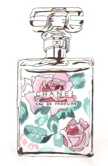 chrome hearts beijing chanel perfume sketch