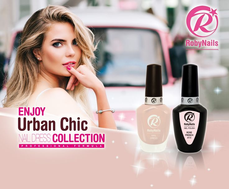 RobyNails expands its Nail Dress nail polishes line with Urban Chic Collection, a new colors collection with maximum expression of feminine elegance. Three new colorsall in perfect match with the Gel Polish correspondent colors! #RobyNails #NailDress #nailpolish #Spring #Summer # 2017