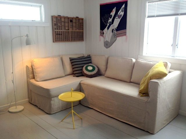 Comfort Works Custom Slipcover For Ikea Fagelbo Sofabed In