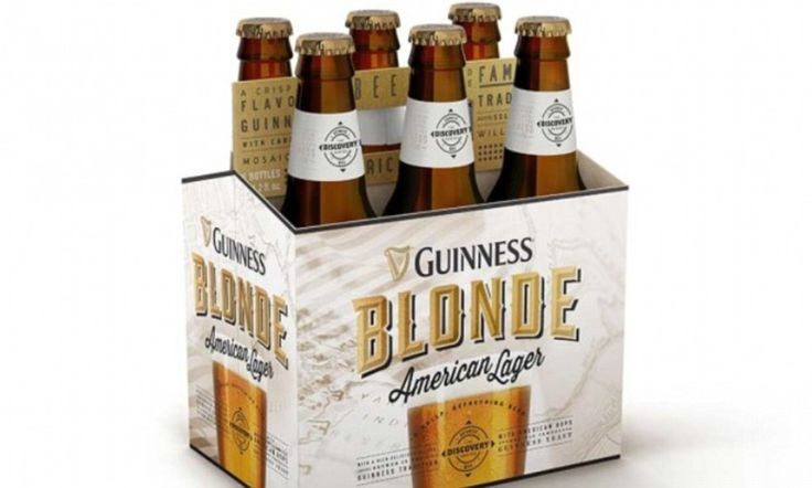 A famously black beer is going blonde... Get ready for Guinness Blonde
