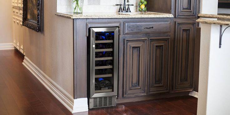 best 25 built in wine cooler ideas on pinterest. Black Bedroom Furniture Sets. Home Design Ideas