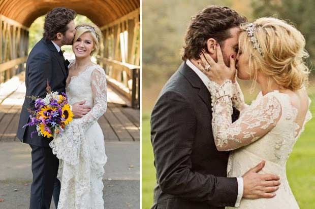Kelly Clarkson Wedding Obsessed With This Dress