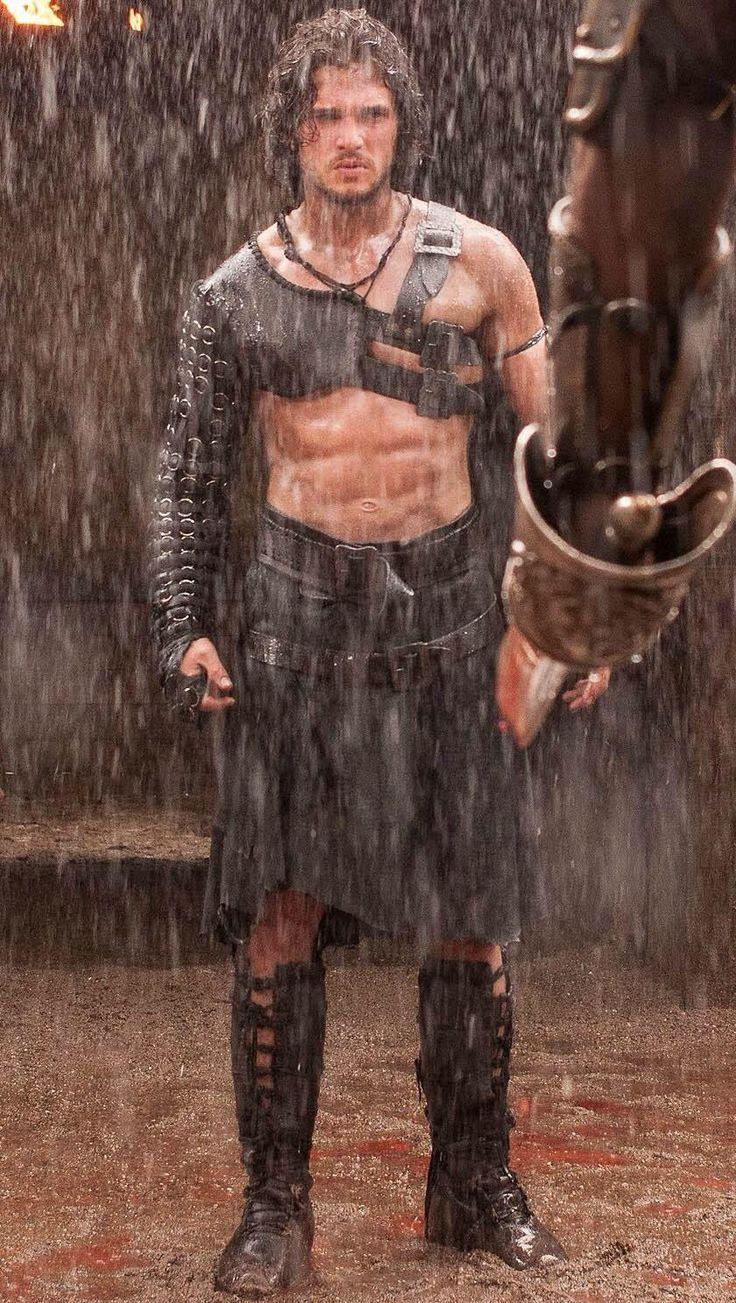 Kit Harington in 'Pompeii'