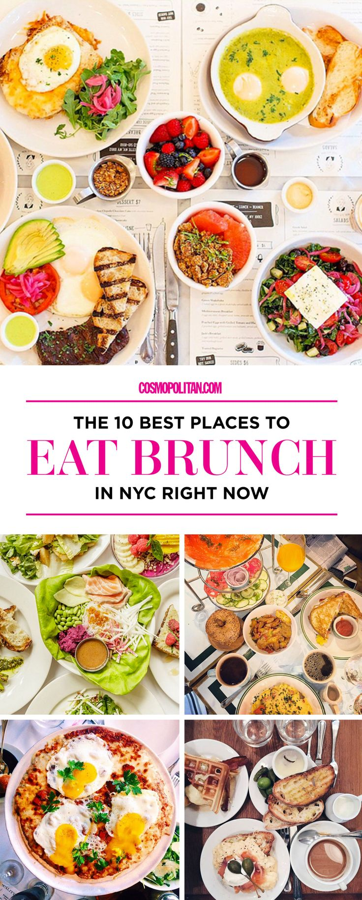There's no better city for brunch than New York, where there are endless, unparalleled options. Among them, here are 10 restaurants that stand out.