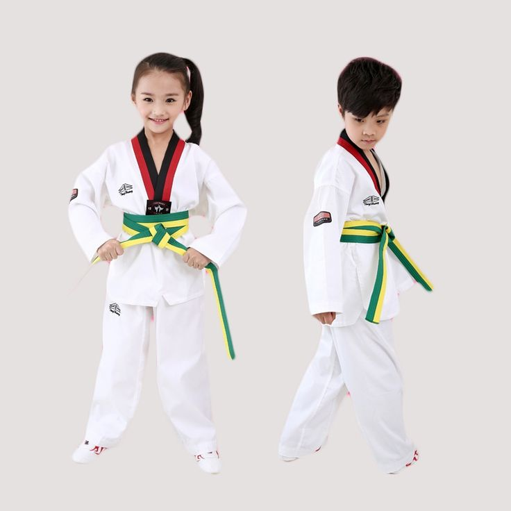 46.71$  Buy here  - Children Men Women Taekwondo Dobok Karate Uniforms Sanda Clothes Sets Autumn Winter Cotton Professional Judo Sport Suits