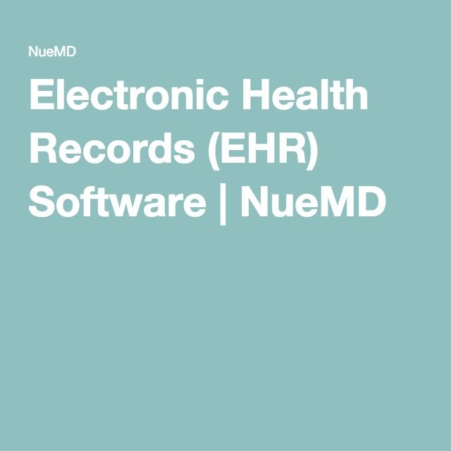 Electronic Health Records (EHR) Software | NueMD