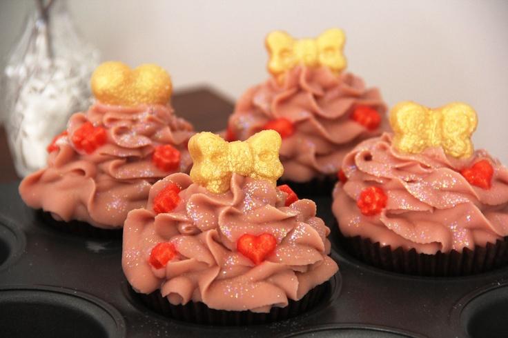 Peach & Vanilla Cupcake Soap