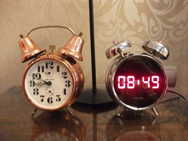 Despertadores vintage.
