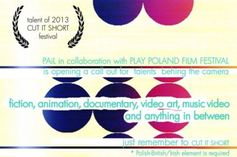 Short Film Competition CUT IT SHORT 2013   Link to Poland
