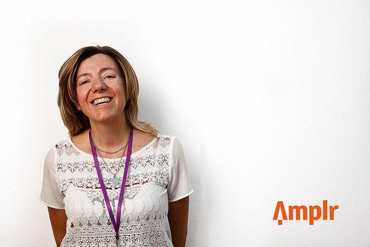 Alla #blogfest13 in posa per la foto del profilo #Amplr