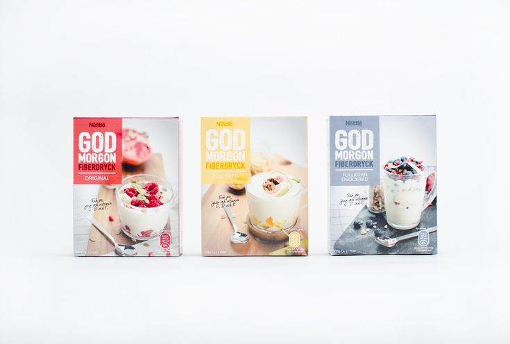 God Morgon Fiber Drink on Packaging of the World - Creative Package Design Gallery