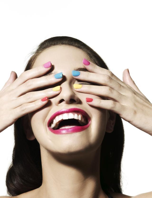 Lección de maquillaje para alegrar un día triste