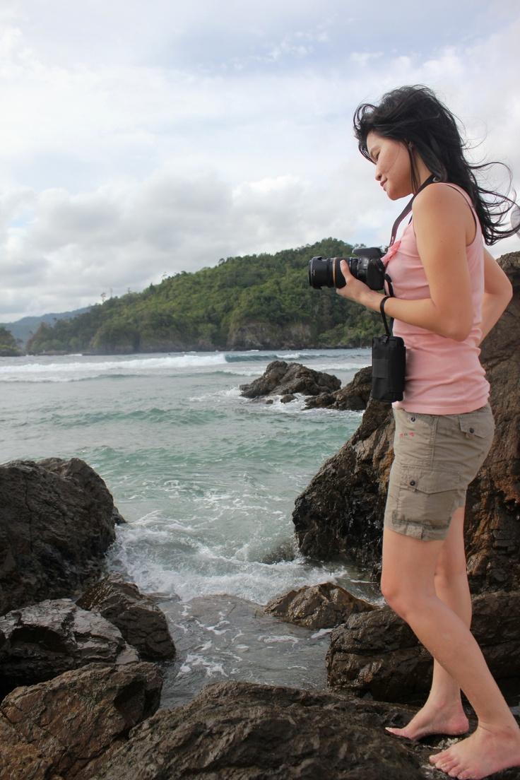 Beauty on the beach. #TelukKiluan