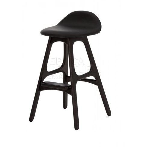 The Black Erik Buch bar stool replica is an impressive and stylish Danish kitchen stool. Ideal for kitchen benches made with black marble or darker colours ...  sc 1 st  Pinterest & 173 best New Arrivals images on Pinterest | Brisbane Sydney and ... islam-shia.org