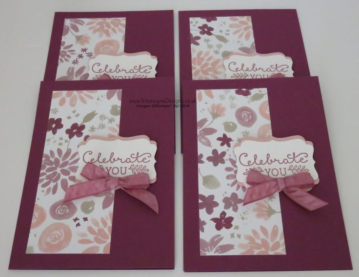 Wednesday Wonder - August 2016 Create 4 Large Milk Cartons and 4 matching Cards…