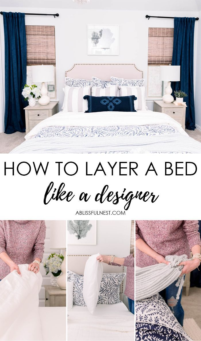 How To Layer A Bed Like A Designer Cozy Bed Home Decor Cheap Apartment Decorating