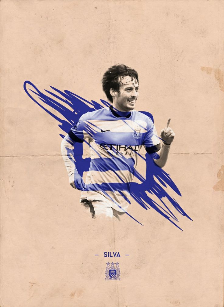 Manchester City Players Poster on Behance