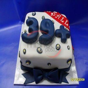 40 Yaş Doğum Günü Pastası - 39+ #butikpasta #yetişkinbutikpasta #doğumgünüpastası #40yaşpastası