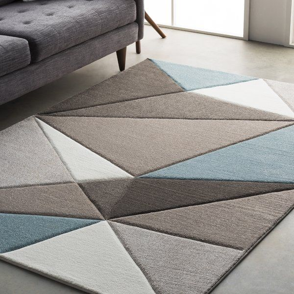Colorful and unique, the Mott Street collection by Varick Gallery® features unique geometric design that would look great in any space. Made from polypropylene, this rug features a super soft and comfy high pile. Rug pad recommended. Spot clean or professionally clean only.