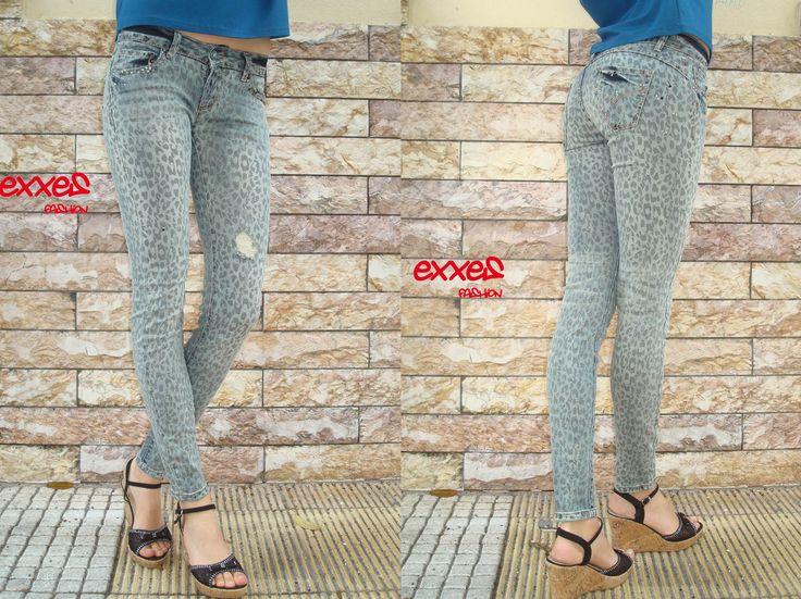 #animal #print #jean #pants #love