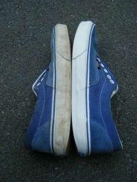Blanchir les semelles des chaussures de sport