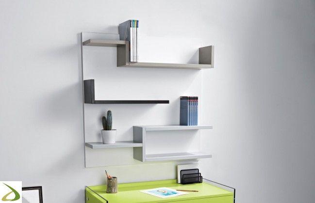Libreria Myshelf | casa nel 2019 | Librerie, Mensole sospese ...
