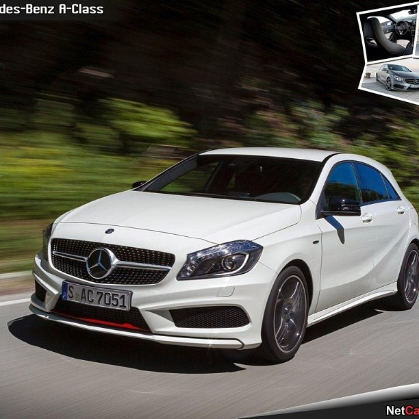 Saw one of these today and absolutely loved it!! Mercedes a180!