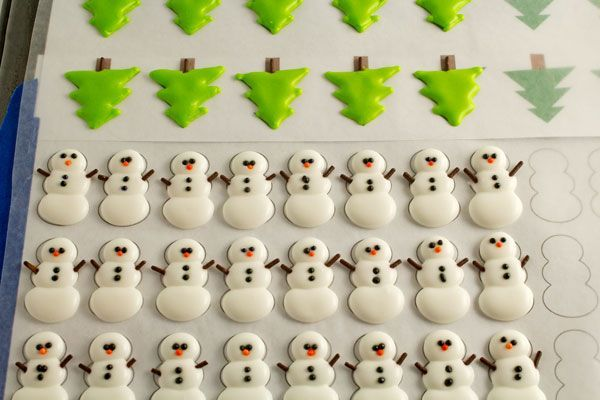 Make stress free Christmas cookies with the help of these cute Christmas royal icing transfers. Follow this tutorial to make then now and decorate later.